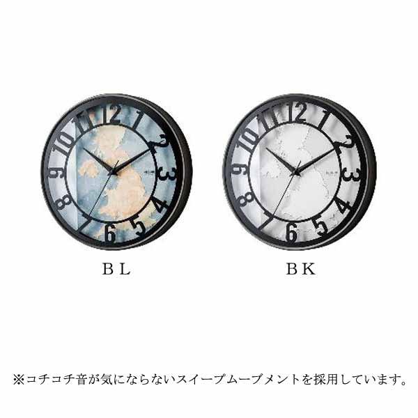 【1000円OFFクーポン配布中】【送料無料】Romanel [ロマネル] 壁掛け時計  0252-zk-cl-2535