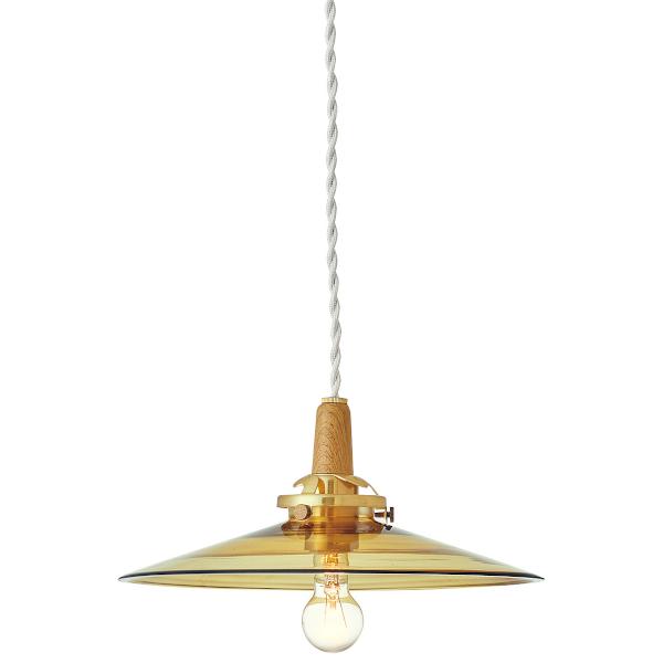 1灯式ペンダントライトTromp トロンプ 電球なし アンバー色  Interform 252l-lt-3801am