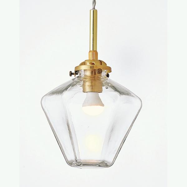 【店内全品ポイント10倍】【送料無料】1灯式ペンダントライト Philia[フィリア] E17/40W相当 小型LED電球(電球色)付 クリア色 --- Interform252l-lt-3806cl