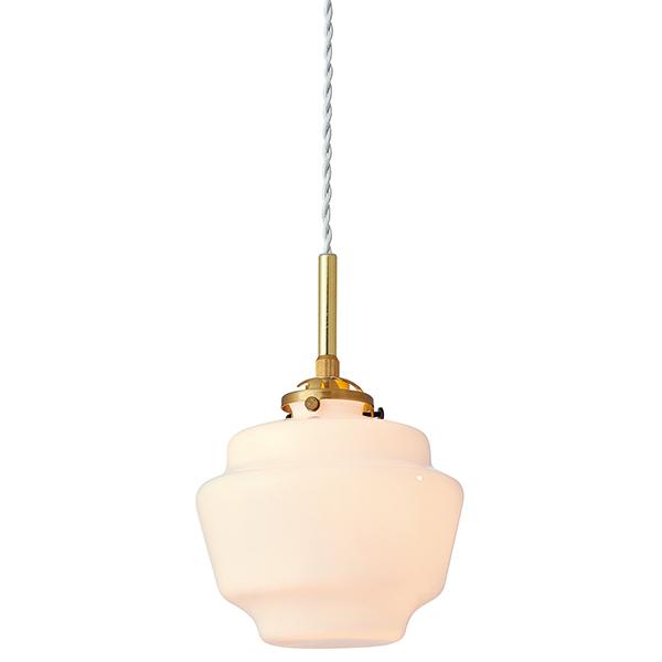 【店内全品ポイント10倍】【送料無料】1灯式ペンダントライト Dudley[ダドリー] E17/60W クリアミニクリプトン球(白熱電球)付 乳白色 --- Interform252l-lt-3808wh