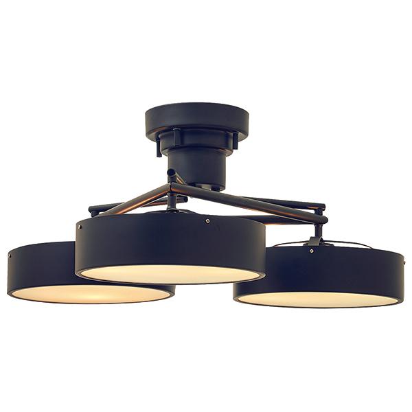 6灯式モダンシーリングライト Fiona フィオナ  E17/40W相当 小形LED電球 電球色 ×6付  Interform 252l-lt-3812