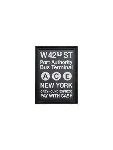 アートフレーム カフェスタイル NEW YORK S A3サイズ  0400-zk-tr-4197-NY