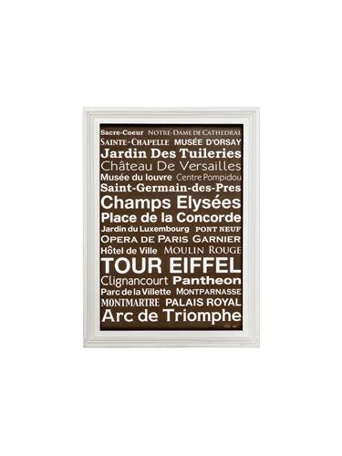 アートフレーム カフェスタイル PARIS M A2サイズ  0400-zk-tr-4198-PR
