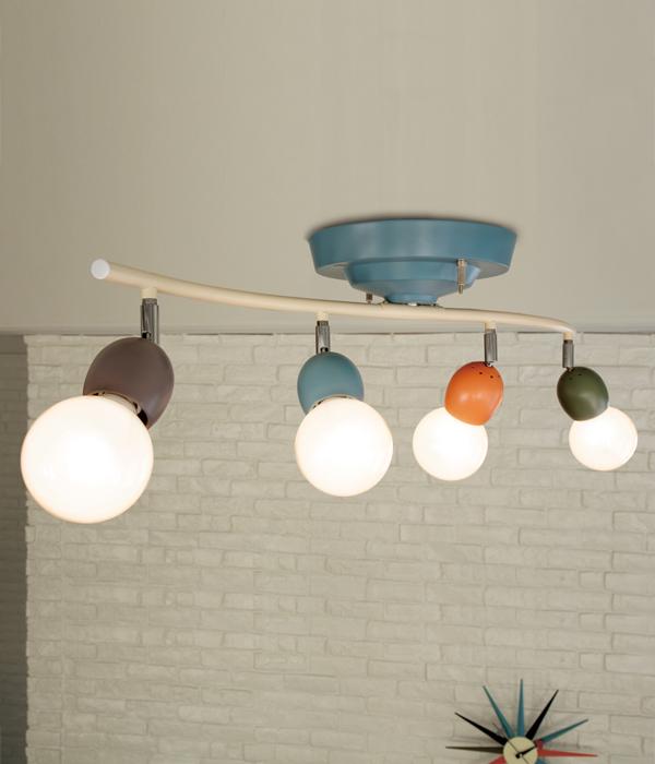 4灯シーリングライト カラフル ANNABELL-REMOTE CEILING LAMP アナベルリモートシーリングランプ  0400-li-AW-0323V