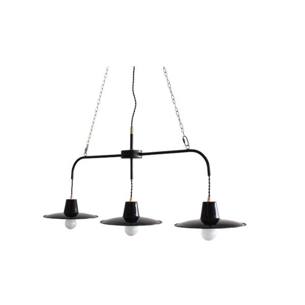【店内全品ポイント10倍】【送料無料】ペンダントライト 照明 照明器具 Bacino-flat3 pendant lamp バチーノ フラット3 ペンダントランプ ディクラッセ  0510-li-lp3085bk