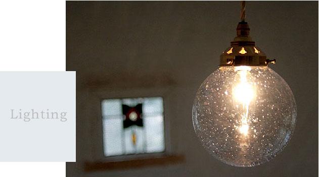 国産ガラスペンダントライトセット 0028アワブルー 電球1灯付属 オプションギャラリー 15mono0515-li-0028bl-a