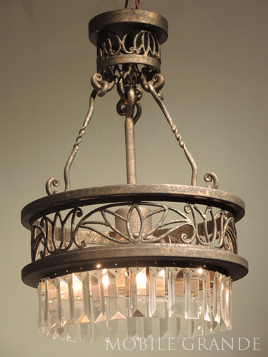 アンティークスタイル アイアンシャンデリア3灯シャンデリア アイアン led 電球 姫 アンティーク 照明器具 天井照明 レトロ リビング プレゼント ギフト お祝 贈り物0516-li-AW-C12S