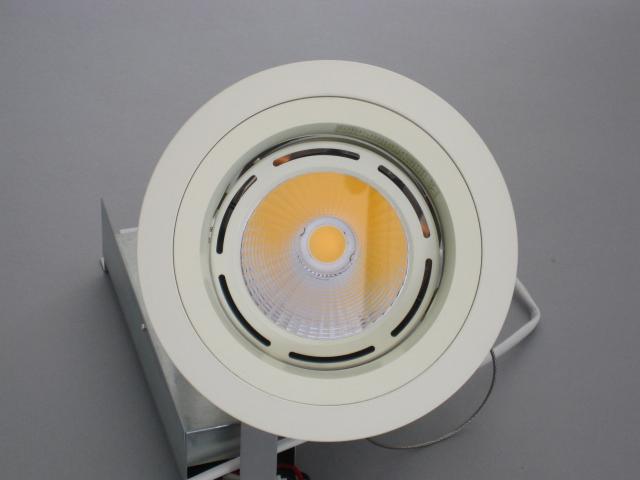 【即納】 ☆ハイホープ ダウン☆ UDL-1242NW-30 UNITY/ユニティ LEDダウンライト 高照度&軽量 CDM100W相当 埋込穴125mm 色温度3000K 狭角 本体白