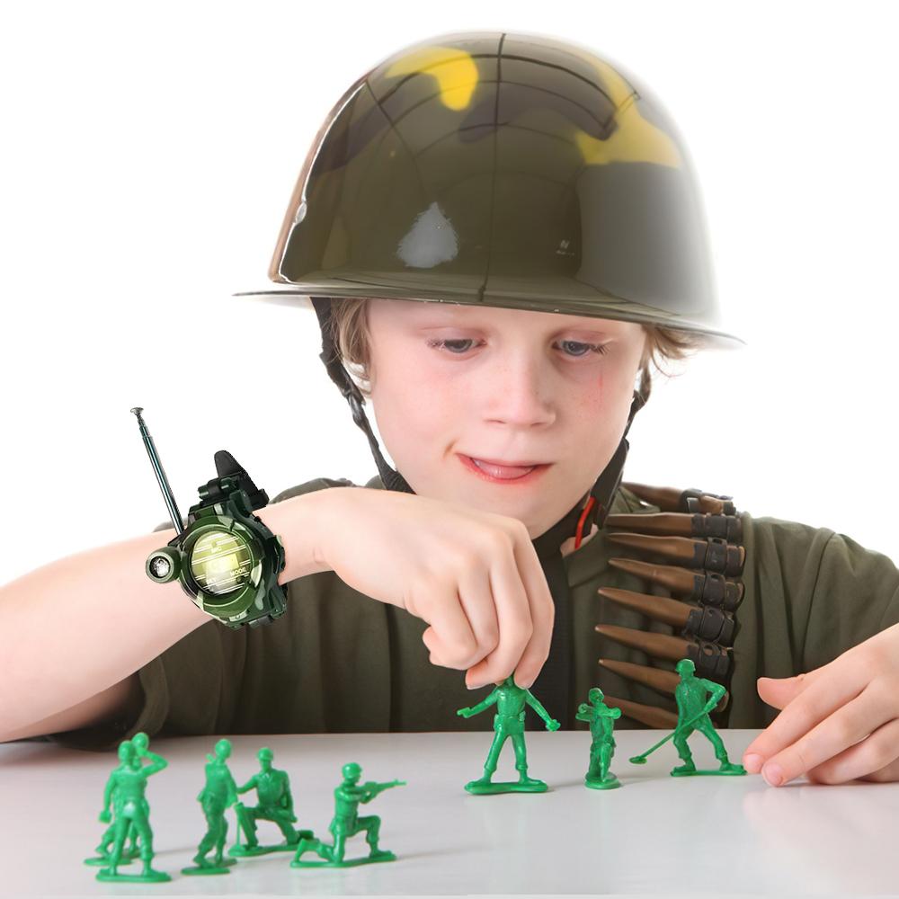 スマートウォッチ 子供 2x子供用ウォーキートーキーウォッチ双方向ラジオ腕時計双方向ラジオおもちゃ 5☆大好評 人気海外一番