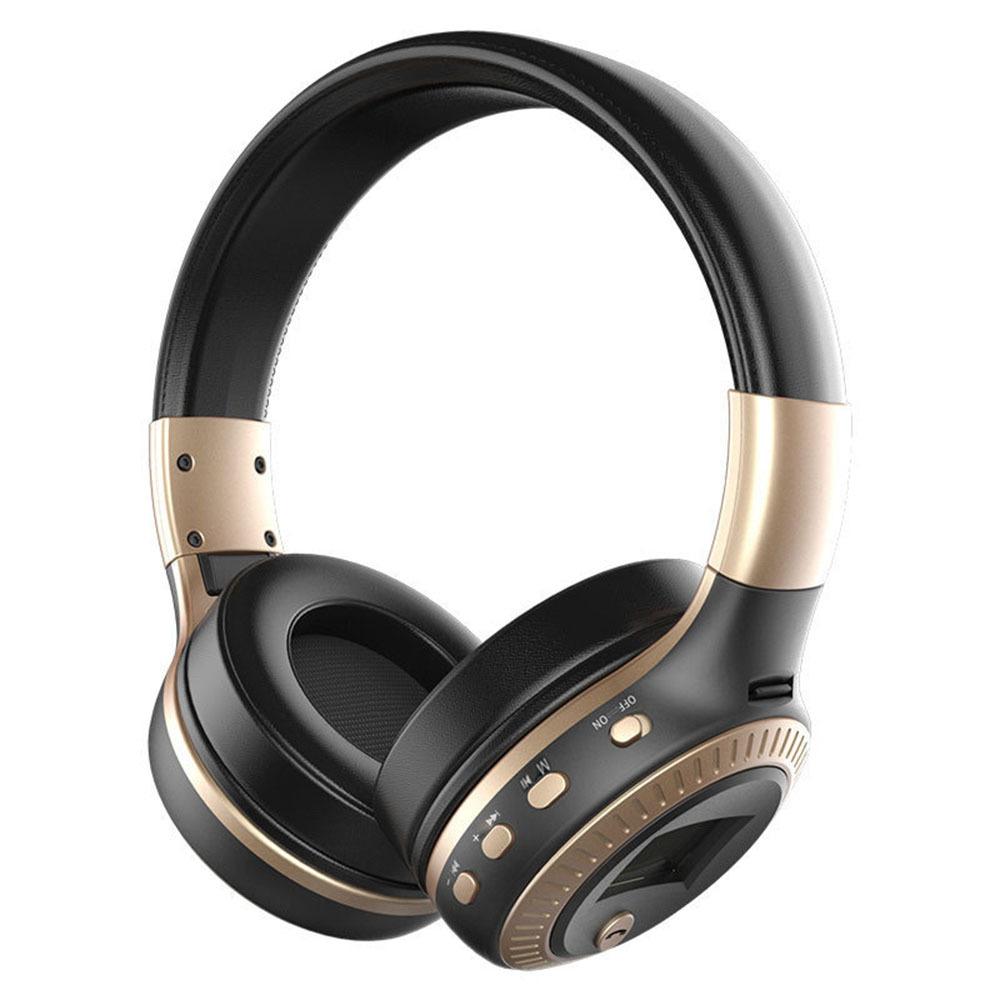 オーバーイヤーヘッドホン ヘッドホン ヘッドフォン ワイヤレスヘッドホン Bluetooth HiFi高音質 人気ショップが最安値挑戦 密閉型ヘッドセット 送料無料 激安 お買い得 キ゛フト LCDヘッドフォン 折りたたみ式 無線
