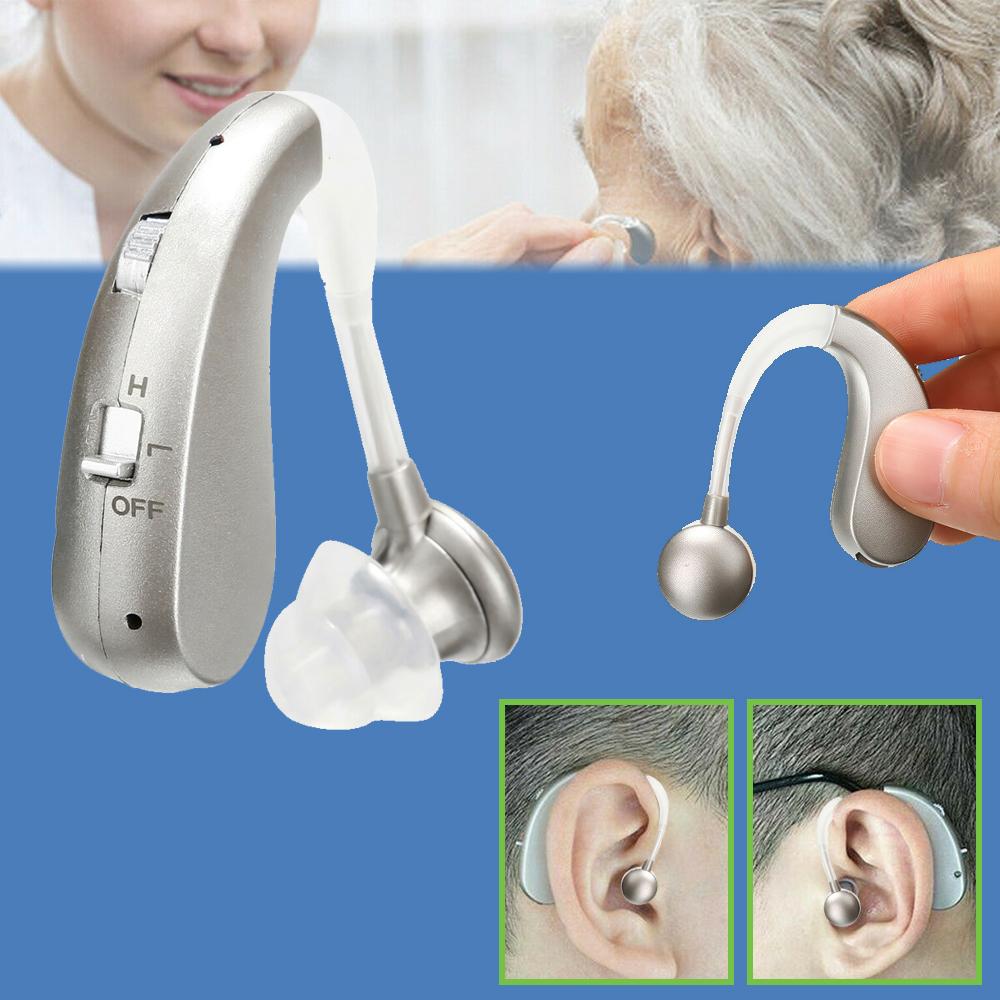 集音器 デジタル集音器 補聴器 無料 ワイヤレス 集音器USB 軽量 中度難聴者用 充電式 商店 高齢者 耳掛け式