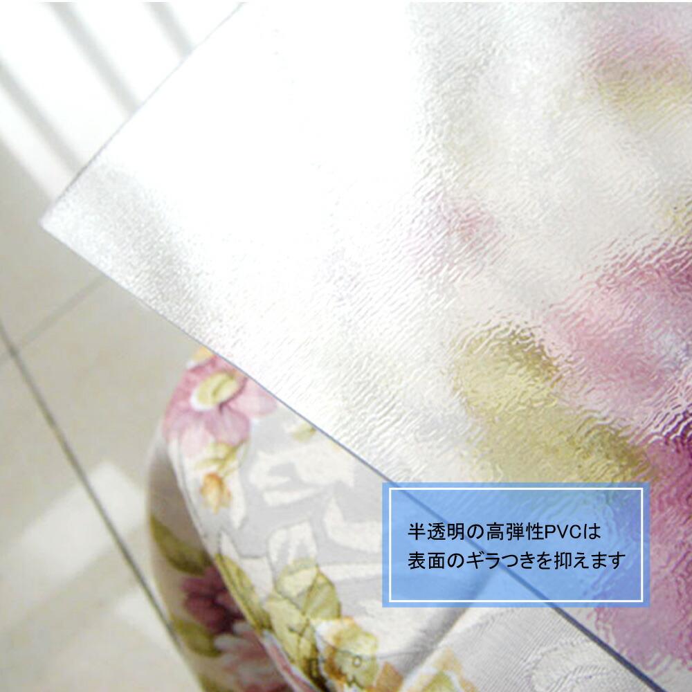 透明 835×500mm×厚さ1.5mm 送料無料 [XH662] デスクマット あす楽