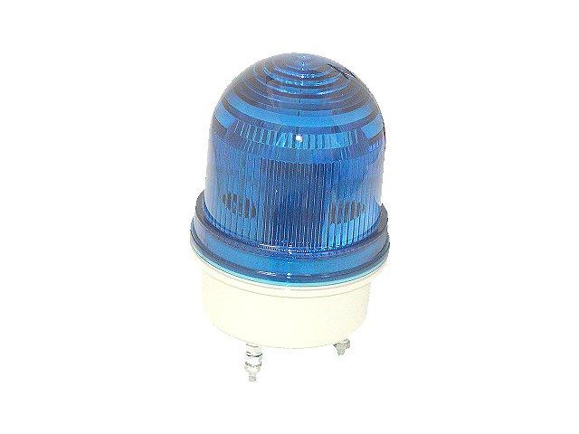 サンビーマー BL-100-B-F-M4 点滅発光 青レンズ 防滴構造キセノンフラッシュランプ 点滅灯 送料無料