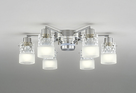 ODELIC オーデリック LEDリモコン付洋風シャンデリア光色切替調光タイプ~10畳 OC257010PC