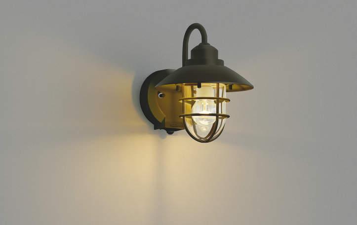 KOIZUMI♪コイズミ照明 人感センサ付LED防雨型ポーチ灯 AU38410L