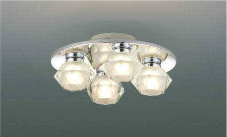 KOIZUMIコイズミ照明リモコン付LEDシャンデリア~4.5畳電球色調光タイプAA42219L