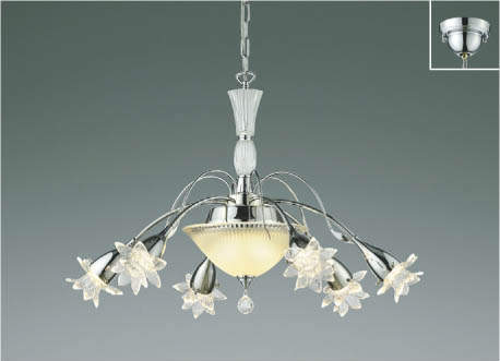 KOIZUMIコイズミ照明LEDシャンデリア~6畳AA45529L