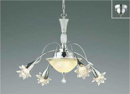 KOIZUMIコイズミ照明LEDシャンデリア~4.5畳AA45531L