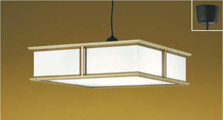 KOIZUMIコイズミ照明LED和風ペンダント~12畳調光調色タイプAP43078L