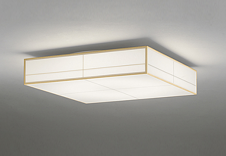 ODELICオーデリックリモコン付LED和風シーリングライト~12畳調光調色タイプOL291022