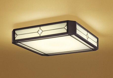 ODELICオーデリック LED和風シーリングライト~8畳調光調色タイプOL291109