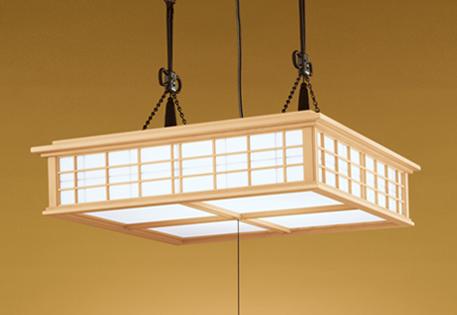 オーデリック LED和風ペンダントライト ~12畳 調光調色タイプ OP252112