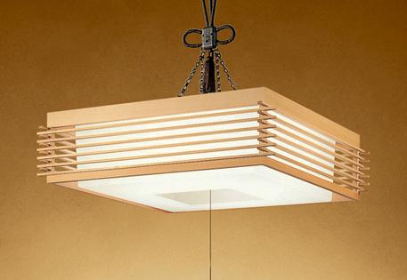 オーデリック LED和風ペンダントライト ~8畳 調光調色タイプ OP252115