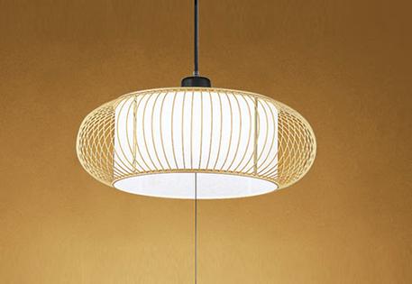 オーデリック LED和風ペンダントライト ~6畳 昼白色調光タイプ OP252173