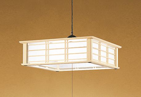 オーデリック LED和風ペンダントライト ~6畳 昼白色調光タイプ OP252195