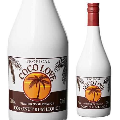 今 まとめ買い特価 売れてるココナッツリキュールはコレ 甘いココナッツの香りとラムがマッチした魅惑的なリキュール 無料 ココラブ ココナッツリキュール リキュール 長S 21度 700ml ココナッツ