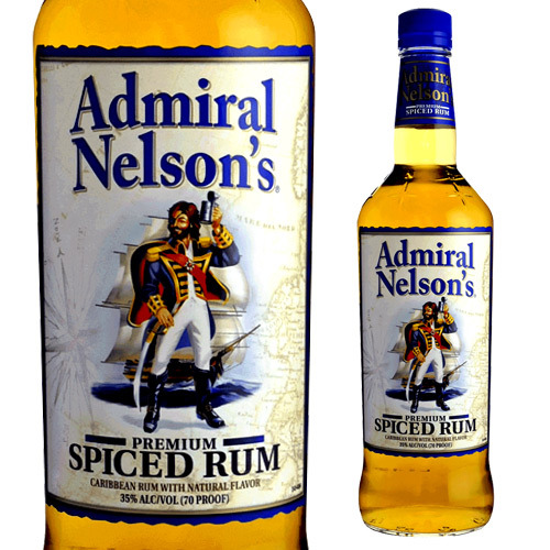 Admiral Nelson Infused Rum 750 Ml 35 Degrees RAM Spirits