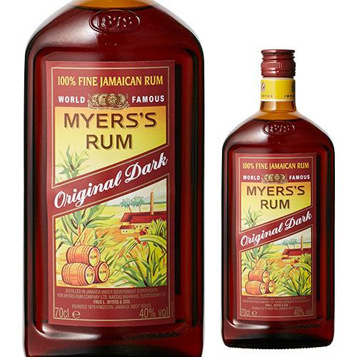 華やかな風味と芳醇な香りのダークラム! マイヤーズラム ダーク オリジナル<並行>40度 700ml ラム スピリッツ Myers Rum