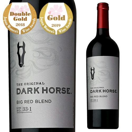 ガロ社が誇るプレミアム赤ワイン ダークホース ビック・レッド ブレンド[長S] 赤ワイン