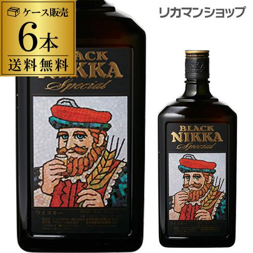 ニッカ ブラックニッカ スペシャル ダブルサイズ 1440ml×6本 ケース販売 [送料無料][ウイスキー][ウィスキー]日本 国産 whisky [長S]