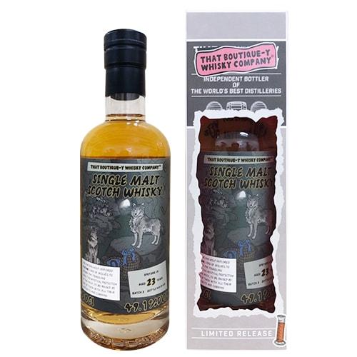 ブティックウイスキー スペイサイド 23年 #5 バッチ3 バーボンバレル 500ml 49.1度 スコッチ シングルモルト ウィスキー ボトラーズ whisky 長S