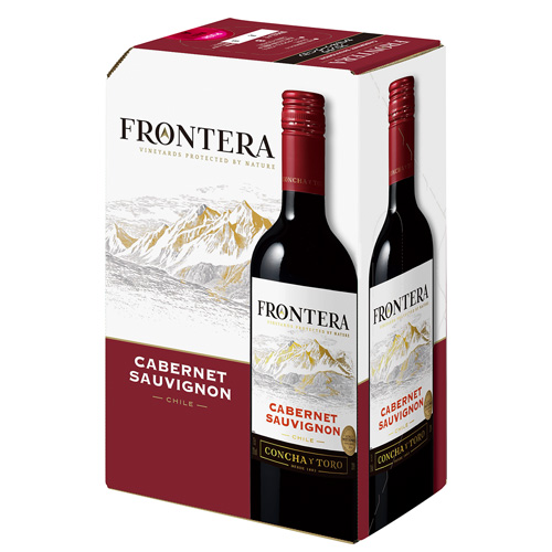 世界で一番売れているチリワイン フロンテラ 《箱ワイン》フロンテラ フレッシュサーバーカベルネ ソーヴィニヨン3L コンチャ チープ イ トロ 長S ボックスワイン バッグインボックス BOX ワインタップ BIB 輸入