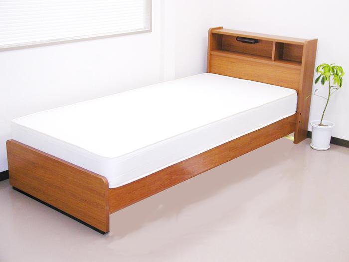 棚照明付シングルベッドフレームのみ