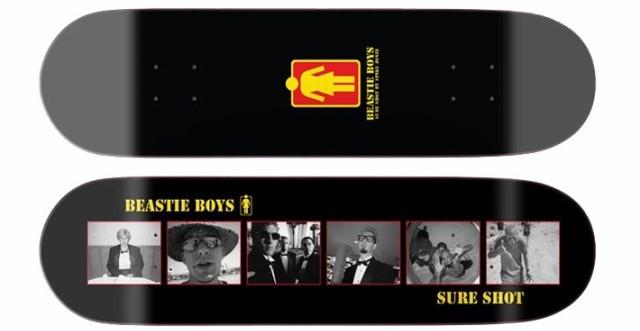 "Girl Skateboards Beastie Boys Sure Shot Skateboard Deck 8.25/"""