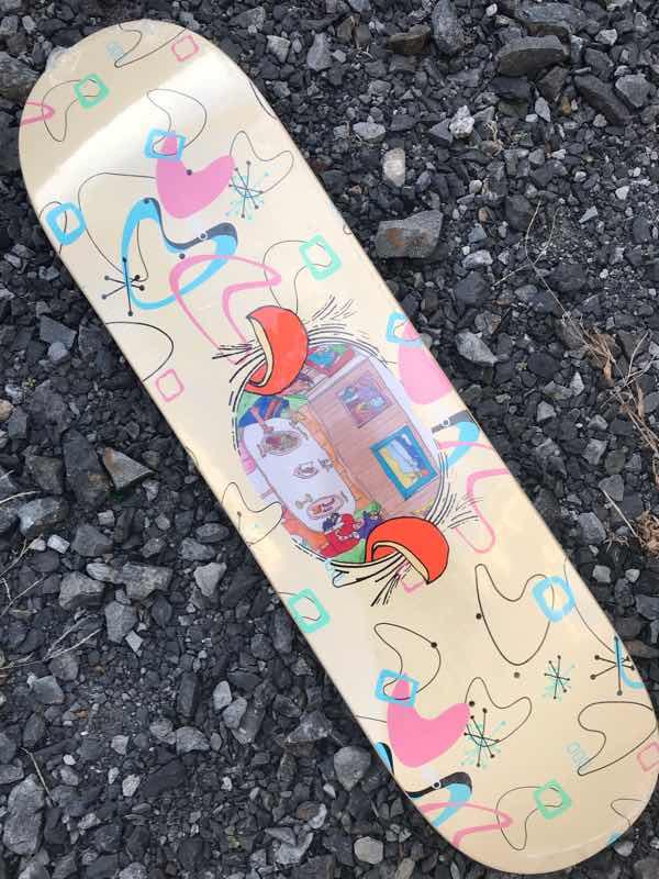 【ILLEGAL CIVILIZATION 】Dino Hands Deck 8.25x31.9 Skateboard Deck イリーガル シビライゼーション スケートボード デッキ