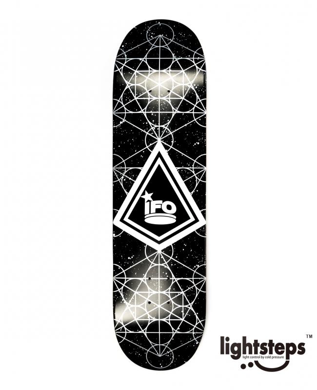 【IFO】8.125×31.25 RINPACE  team  Skateboard Deckリンペース / 輪派絵師団 / キャプテン / アイエフオー / スケートボードデッキ