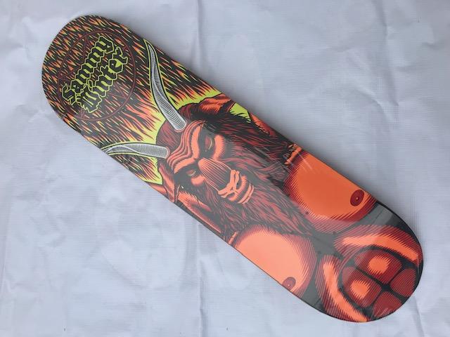 【CLICHE】101 WINTER SATAN 8.25×31.7 Skateboard Deck クリシェ スケートボード デッキ