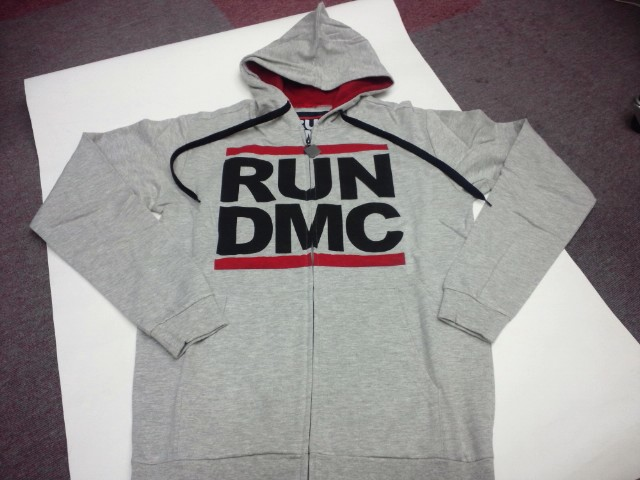 【RUN DMC 】  ジップアップ パーカー