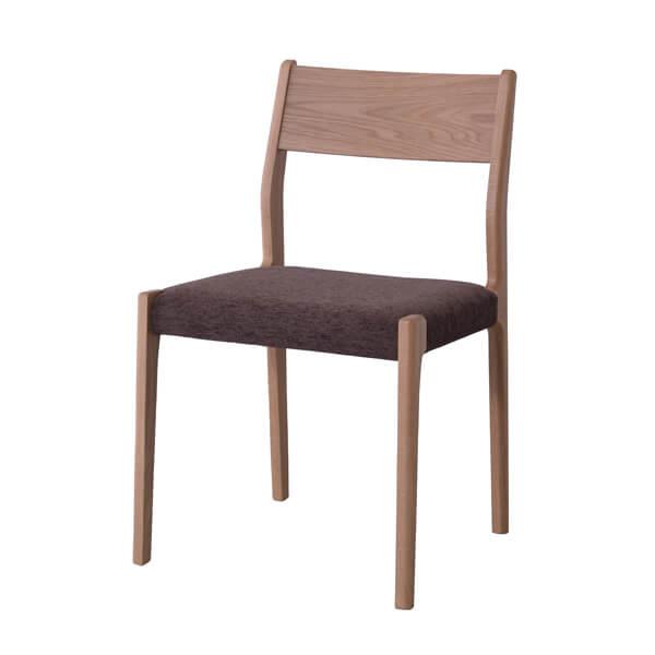インダストリアル アームレスチェア リビングチェア イス 椅子 チェアー 天然木 オーク チェア 天然木 日本国産 北欧 カフェ 高級感 シンプル ナチュラル おしゃれ JPC-121OAK