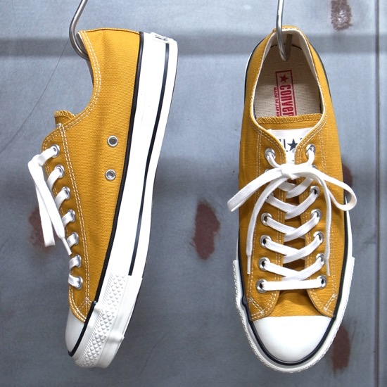 Suede all stars SUEDE ALL STAR J OX gold sneakers shoes zipper Taylor (men's) made in Converse Converse Japan