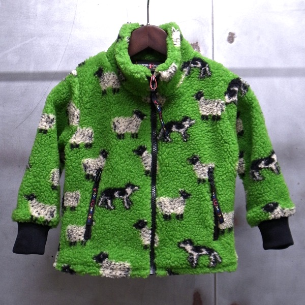 【 FARFIELD / ファーフィールド 】 CHILDS JACKET / フリース ジャケット キッズ サイズ 子供用 イギリス製 ◆ 日本正規代理店商品 FARFIELD ORIGINAL CLOTHING
