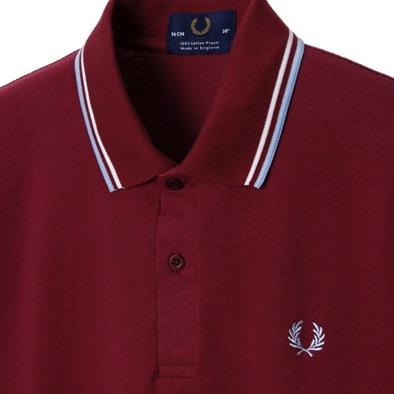 d98f7ea6e fred perry maroon shirt, Fashion Shirts | Long Sleeve Shirts | T ...