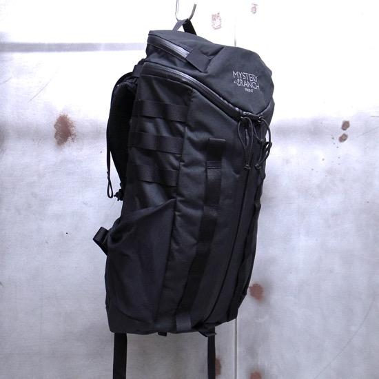 【 MYSTERY RANCH / ミステリーランチ 】 FRONT (BLACK) / フロント (ブラック) リュックサック バックパック ◆日本正規代理店商品