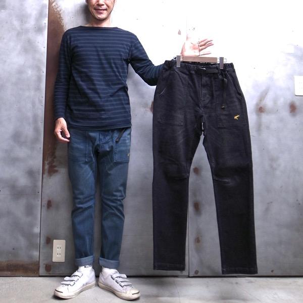 【 ROKX / ロックス 】 RXMF8216 DENIM FATIGUE PANT / デニム ファティーグ パンツ  ロックスパンツ クライミングパンツ ◆日本正規代理店