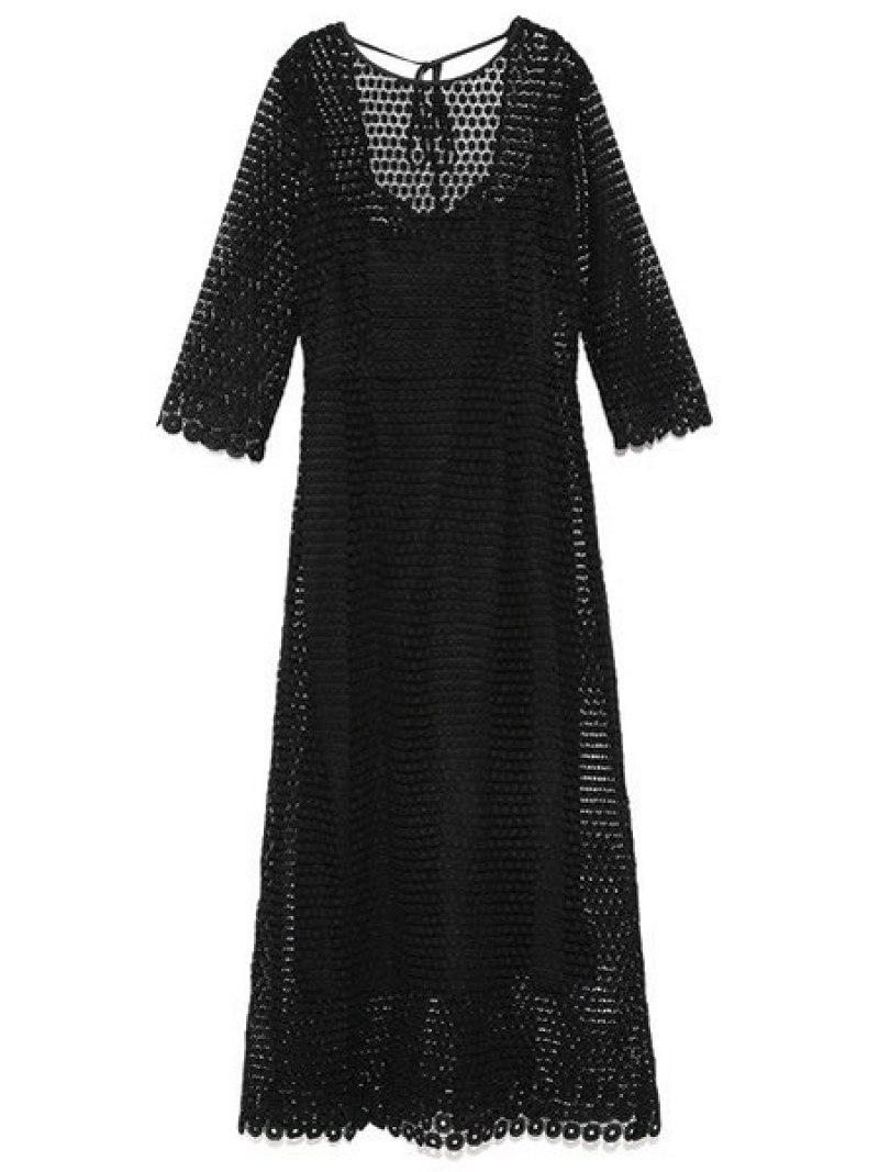 [Rakuten Fashion]【SALE/40%OFF】ヴィンテージレースワンピース Lily Brown リリーブラウン ワンピース ワンピースその他 ブラック グリーン ホワイト【RBA_E】【送料無料】
