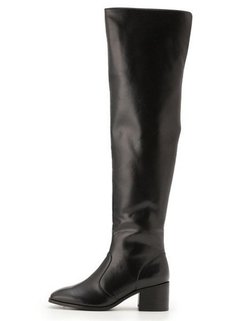 [Rakuten Fashion]【SALE/40%OFF】ニーハイブーツ Lily Brown リリーブラウン シューズ ロングブーツ ブラック レッド【RBA_E】【送料無料】
